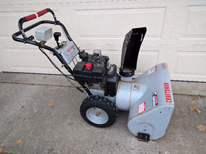 "Craftsman Snowblower -27"" -8.5 HP"