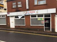 Fish and chip shop to rent