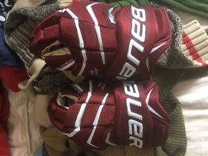 "Brand New Bauer Supreme One.8 Senior 15"" Gloves"
