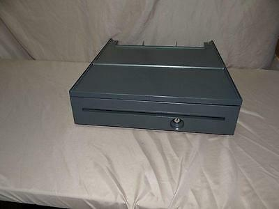 Ibm Grey Cash Drawer Surepos 500 20p0270 41j7680 Lock Included No Key