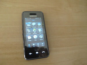 Samsung Instinct M800 cell phone, 2MP camera, touch screen