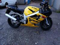 Suzuki GSXR 600 K1 - Nationwide Delivery Available - Very low Miles