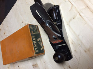 Stanley No. 4 Hand Plane, never used, New in original box.