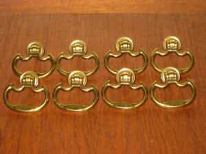 Different  Metal and Wood Bail Cabinet Handles / Drawer Pulls