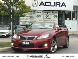 2010 Lexus IS250C 6A