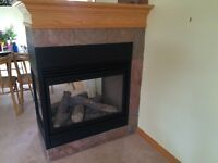 Napoleon Three Sided Gas Fireplace