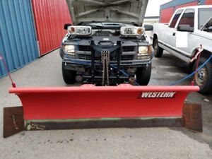 1998 Chevrolet 2500 4x4 With Western Plow