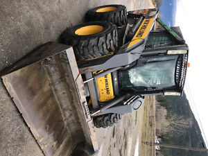 New Holland L190 skid steer