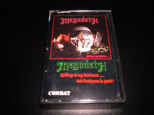 Megadeth - Killing is my business...(1985) 4 pistes Heavy Metal