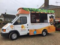 2000 Ford Transit ice cream van catering burger van ETC