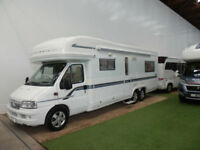 AUTOTRAIL ARAPAHO SE / TAG AXLE / 4 BERTH / 57 REG / U LOUNGE / AIR CON / CRUISE