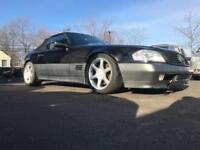 Late 1994 Mercedes-Benz SL600 6.0 Black Convertible -PROJECT or Parts Car