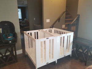 LEAVING CANADA MUST SELL-2 USED BABYLETTO MINI ORIGAMI CRIBS