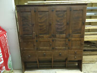 Authentic Arts & Crafts style kitchen Cabinetry - Oak - 1920's