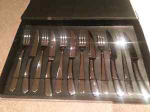BNIB 12 Piece Paderno Steak Knife & Fork Set Kitchener / Waterloo Kitchener Area image 1