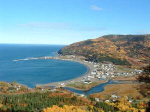 Maison à vendre en Gaspésie.  à 5 min. du bord de l'eau