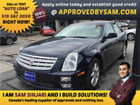 Cadillac STS4 - Rates Low as 3.98% and 6 Months No Payments OAC.