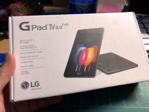 LG G Pad IV 8.0 FHD LTE Tablet - UNOPENED, BRAND NEW
