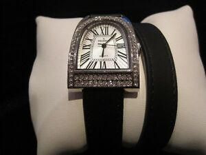 Hermes/Gucci Style Watch; Double Wrapped Leather Straps; NEW!