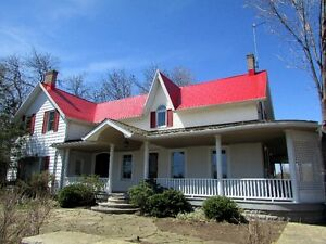 Magnificent Country Home on 163 acres - North Shore, Hay Bay