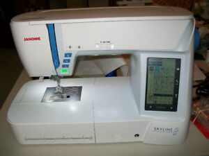 Janome Skyline S7 sewing machine