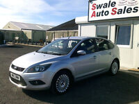2010 FORD FOCUS TITANIUM 1.6L ONLY 66,322 MILES, FULL SERVICE HISTORY