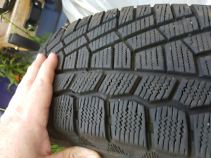 Winter tires from a 4 door Honda civic