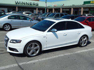 2011 AUDI S4 PREMIUM IN SUPER MINT CONDITION***6SPEED TRANS