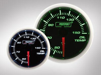 Prosport Öltemperatur Anzeige BF Performance Serie Grün/ Weiss 52mm