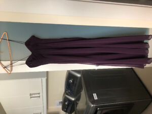 Alfred Angelo Grape Size 2 bridesmaid dress