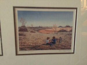 Henry Ripplinger Gallery 3 framed prints of rural Saskatchewan Regina Regina Area image 3
