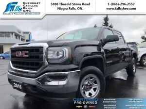 2016 GMC Sierra 1500 Base  4X4,5.3L,CREW,REARCAM,REMOTE START