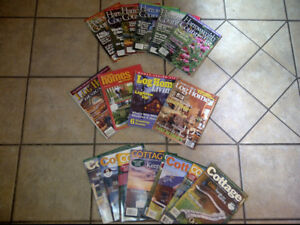 Magazines, Harrowsmith Country Life, Cottage and Log Homes