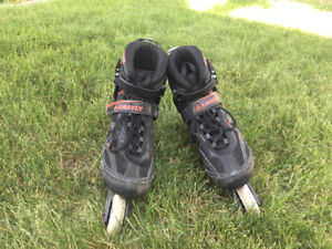 FIREFLY Black & Red Roller Blades