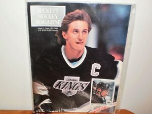 BECKETT HOCKEY MAGAZINE-GRETZKY