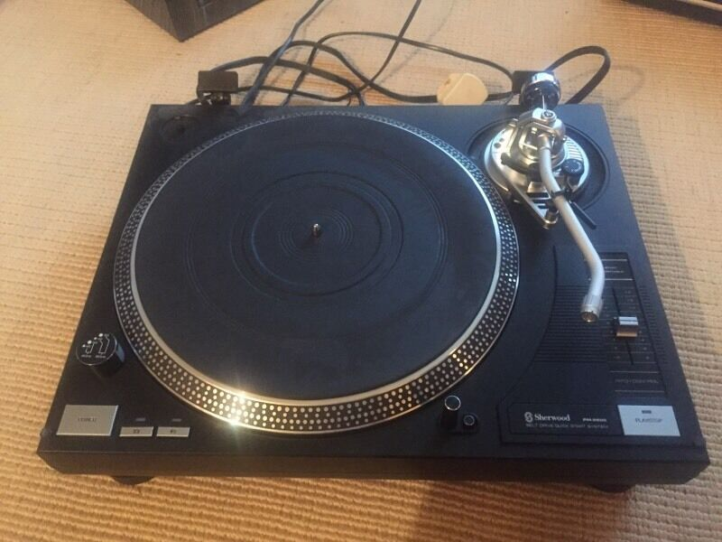 Belt drive turntable wont spin