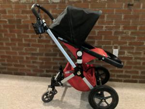 Bugaboo Chameleon Stroller - Red in EUC