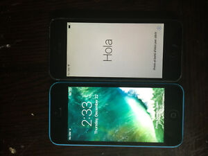 Iphone 5c,blue,16gb with bell