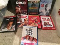 Bundle of DVDs Mostly suitable for 12 or 15