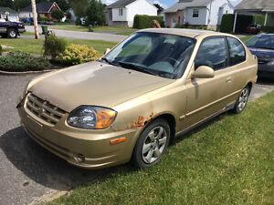 2004 Hyundai Accent GSi Coupé (2 portes)