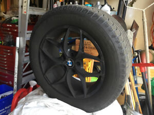 BMW X5-Wheels and winter tires Michelin Ice X