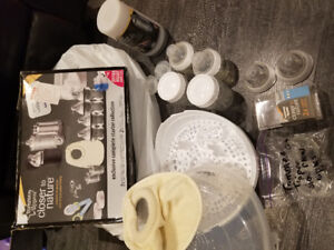 Tommee Tippee  closer to nature bottles, steamer, food warmer
