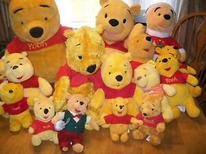 Large Pooh Bear collection