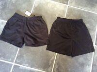Next black pe shorts age 7