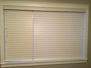 """2 1/2"""" Routeless fauxwood blind"""