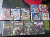 Plusieurs jeux - game cube, ps2, ps1 , xbox , gameboy advance