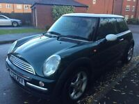 MINI COOPER 1.6 FULL MOT NO ADVISORIES SERVICE HISTORY IMMACULATE FIRST TO SEE WILL BUY