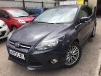 2013 FORD FOCUS 1.0 125 EcoBoost Zetec FSH VERY NICE EXAMPLE PX WELCOME