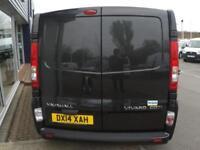 2014 Vauxhall VIVARO 2900 CDTI SPORTIVE LWB CREWVAN *6 SEATER* Manual Crew Van