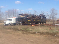 Cleanup Scrap Iron, Farm Equipment Salvage, Metal, Oilfield Junk